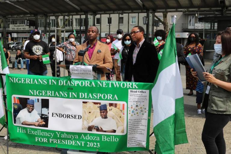 2023 Presidency: Nigerians in Diaspora  back Yahaya Bello