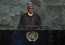Buhari talks debt cancelation, terrorism at UN